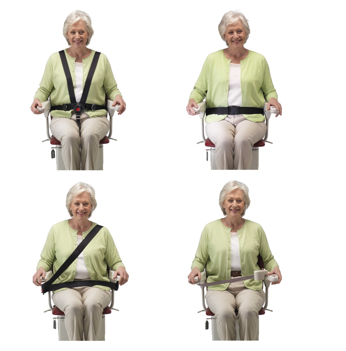 Seat belt options for your Stannah stairlift